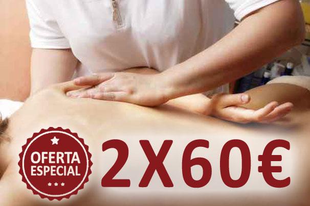 oferta masaje 2x60